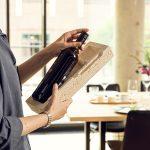 nachhaltige Verpackung für Weinflaschen